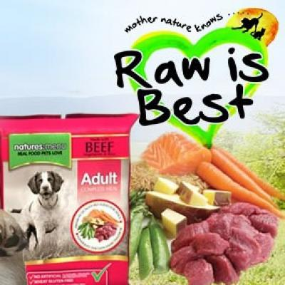 Raw meals for dogs
